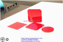 Cut-off optical filter red glass RG610