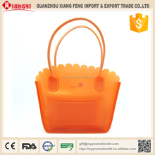 Foldable Stand Up PEVA Vegetable Bag For Women Shopping