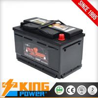Battery for Car Batteries 12V75AH MF Lead Acid battery