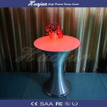 High quality 2015 hot sale white plastic table