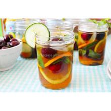 250ml mason jar for drinking, drinking mason jar, juice mason jar