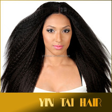 Wholesale Synthetic Hair Weave, Top Quality Cheap Weft Factory Kanekalon Hair Weave, Full Cuticle Hair Weaving