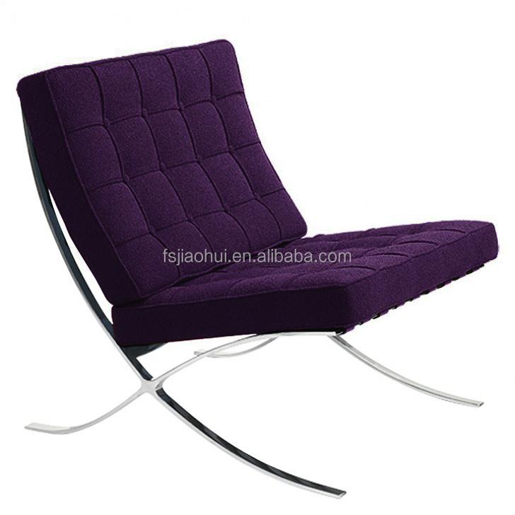 현대 고전 바르셀로나 의자 검은 색 라운지 의자-거실 의자-상품 ...