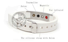 Factory price Wholesale. fashion jewelry wristband, MOQ500pcs,316L Stainless Steel silicone energy lover's Bracelet