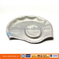 NEW Silicone Ear Protecting Swim Cap