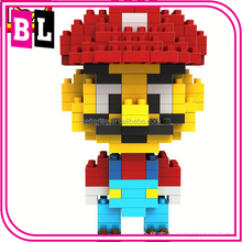 Mini LOZ Block Plastic Cube Building Blocks Educational Toy 3D Diy Building Puzzle
