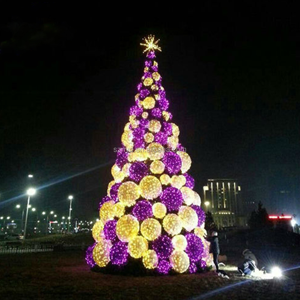 Outdoor led christmas tree lighted christmas cone tree giant outdoor 1g mozeypictures Gallery