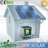 2015 New Design 2KW Smart Solar Energy Home System