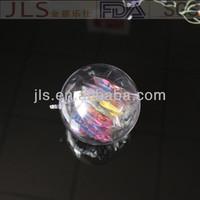Plastic glitter snowflake ornaments,Decoration Christmas Ball