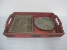 restaurant and hotel wooden box beer tray