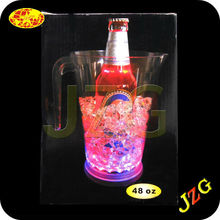 Flashing Led Plastic Beer Mug