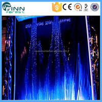 China Manufacture Artificial Graphic Water Curtain Fountain Digital Waterfall