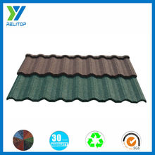 Stone coated steel roofing tile,villa roof tiles in lagos
