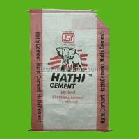 50 kg valve pp cement woven bags