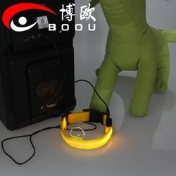 Fashion LED USB Rechargeable Dog Collars