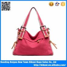 New Design Women's Custom Logo Printed Canvas Handbags