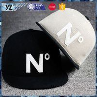 New and hot different types black snakeskin snapback hats from China