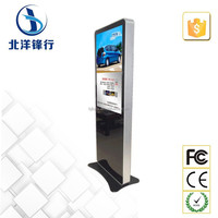 42 inch wifi floor stand lcd digital signage media player
