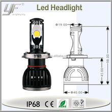 YF brand truck car parts, high power led h4 motorcycle headlight, led h4 motorcycle conversion kit