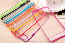 for iPhone 6 Color Line Transparent Clear Case Cover Matte Smooth Hard Plastic Mobile Phone Case Cover for iPhone 6