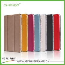 High Qulity Hot Selling Diamond Flip PU Leather Tablet Case