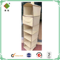 durable 300x400D wholesale canvas organizer with drawers
