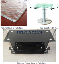 5mm,6mm,8mm Tempered Glass Dining Table with CE Certificate,Tempered glass Table Tops