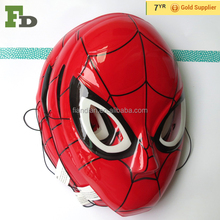 Spiderman Design Halloween Plastic Face Mask