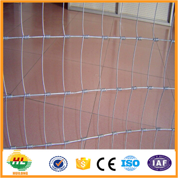 Galvanized wire mesh roll fencing field fence price