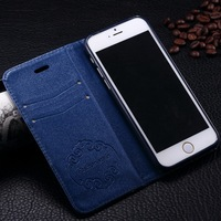 Book Style Various Design Leather Flip Cover Case for iphone 6 4.7 inch