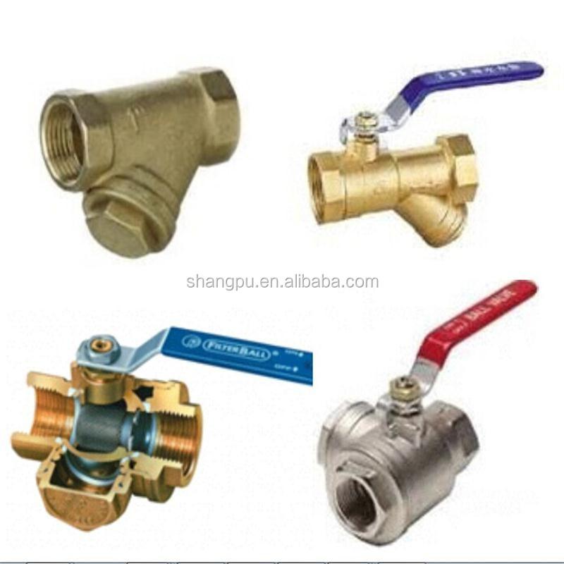 Brass ball valve pex fitting pipe