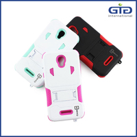 PC +Silicon Phone Case For Alcatel OT5017E With Clips