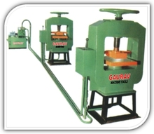 OIL HYDRAULIC PRESS WITH POWER PACK INSTALLATION Tiles Machine