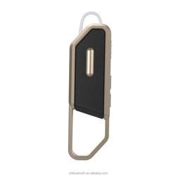 Single side mobile use wireless communication earpiece
