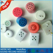mini plastic sound music case anime music box componens voice squeeze box squeezing musical box