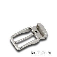 30mm straight clip buckle with rounded sides