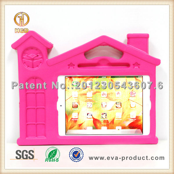 House design kids lovely child safe EVA Shock Resistant Case for iPad mini