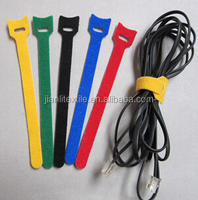 Customized Multipurpose Nylon Hook and Loop Velcro Cable Tie wire strap