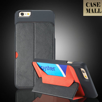 2015 Newest Product Hard pu Leather Case for iPhone 6 Standing Wholesale Cell Phone Case for iPhone 6 Case