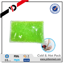 microwave reusable beads cooling pack from shanghai factory
