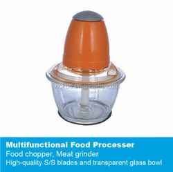Household functional electric vegetable chopper, mini glass food chopper, glass meat chopper, ice crusher,meat grinder