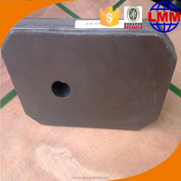 Alumina carbon Refractory High refractorines fire clay powder slide gate plate in competitve price