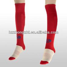 los hombres de alta elástico de alta de la rodilla calcetín de rugby