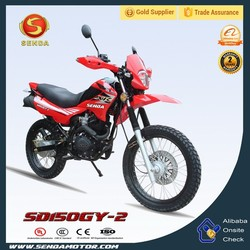 Rear Durm Brake Hand-controlled Kick Bike for 150cc Off-road Conditions with Mostly Grass/Gravel/Loose Dirt Surfaces SD150GY-2
