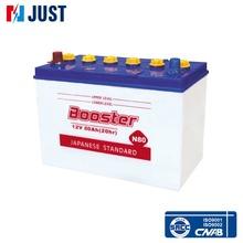 Export wholesale high Quality 12V 80ah Japan Standard dry Car Battery