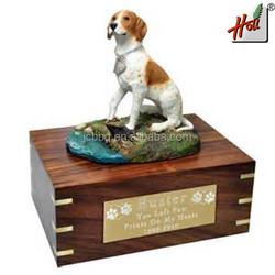2015 Hot sale customized wood eco-friendly pet casket HCGB8613