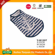 Factory Direct Various Dog T-Shirts Wholesale Pet Accessories from China