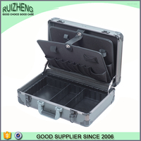 Quality aluminum storage tool case with segmented