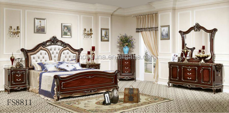 italian royal bedroom furniture luxury upholstered canopy bed with