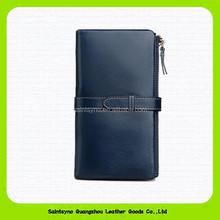 14338 Leather ladies wallet ladies pars hand set bag genuine wallet.